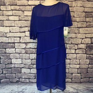 Patra NWT Layered Dress Size 10